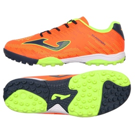 Football boots Joma Champion 908 Tf JR CHAJW.908.TF black, multicolor orange