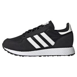 Black Adidas Originals Forest Grove Jr EE6557 shoes