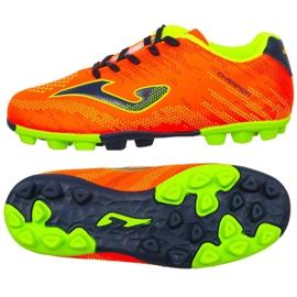 Football boots Joma Champion Jr 908 Fg CHAJW.908.24 orange orange