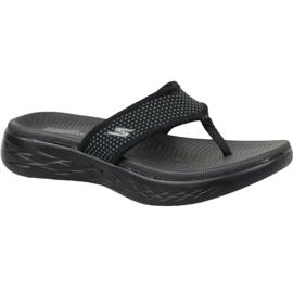 Black Flip-flops Skechers On The Go 600 W 15300-BBK