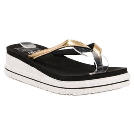 SHELOVET black Flip-flops