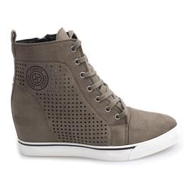 Openwork Sneakers XW36236 Olive