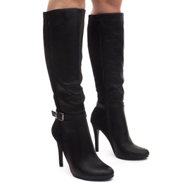 Boots On A Pin 8022 Black