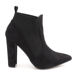 Ankle Boots On The Stirrup 2146-6 Black