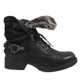 Black insulated boots JA3203
