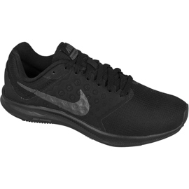 Black Running shoes Nike Downshifter 7 W 852466-004