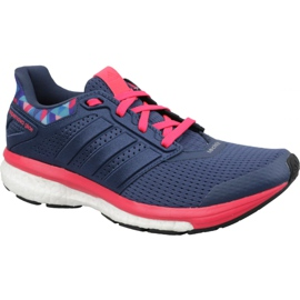 Navy Shoes adidas Supernova Glide 8 Gfx W AQ5059