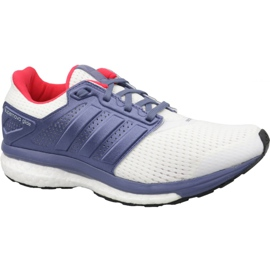 White Shoes adidas Supernova Glide 8 W S80277