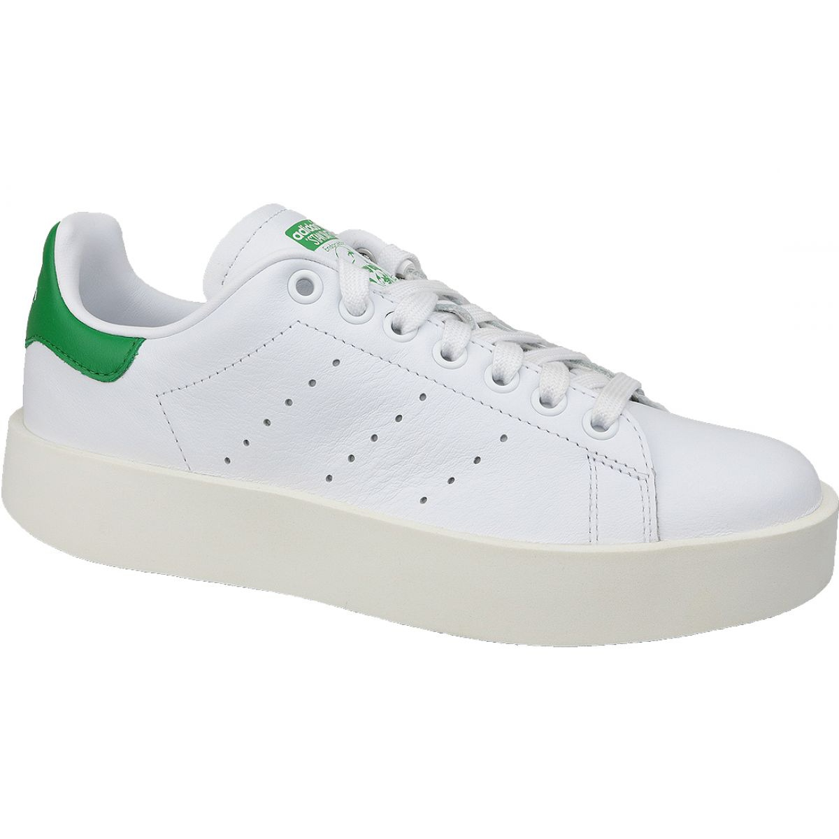 buy popular 286d0 351da White Adidas Stan Smith Bold shoes in S32266