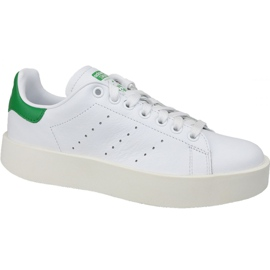 Adidas Stan Smith Bold shoes in S32266 white