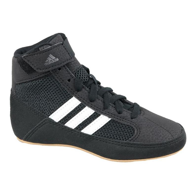 Shoes adidas Havoc K Jr AQ3327 black