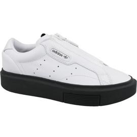 Adidas Sleek Super Zip W EF1899 shoes white