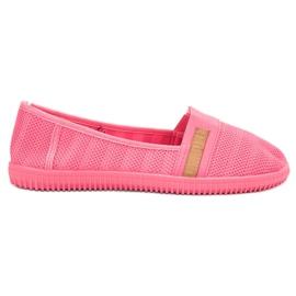 SHELOVET pink Neon Slipony