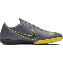 Football shoes Nike Mercurial Vapor X 12 Academy Ic gray M AH7383 070