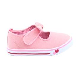American Club pink Sneakers sneakers bow TEN42