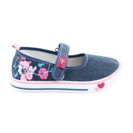American Club blue Sneakers sneakers with Velcro TEN15