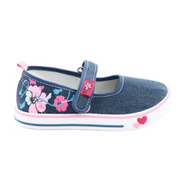 American Club Sneakers sneakers with Velcro TEN15 blue
