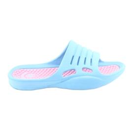 Foam flip-flops for American Club blue water