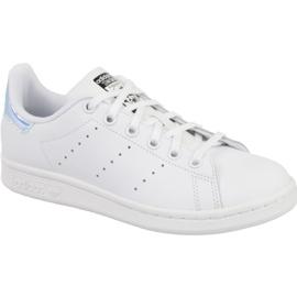 White Adidas Stan Smith Jr AQ6272 shoes