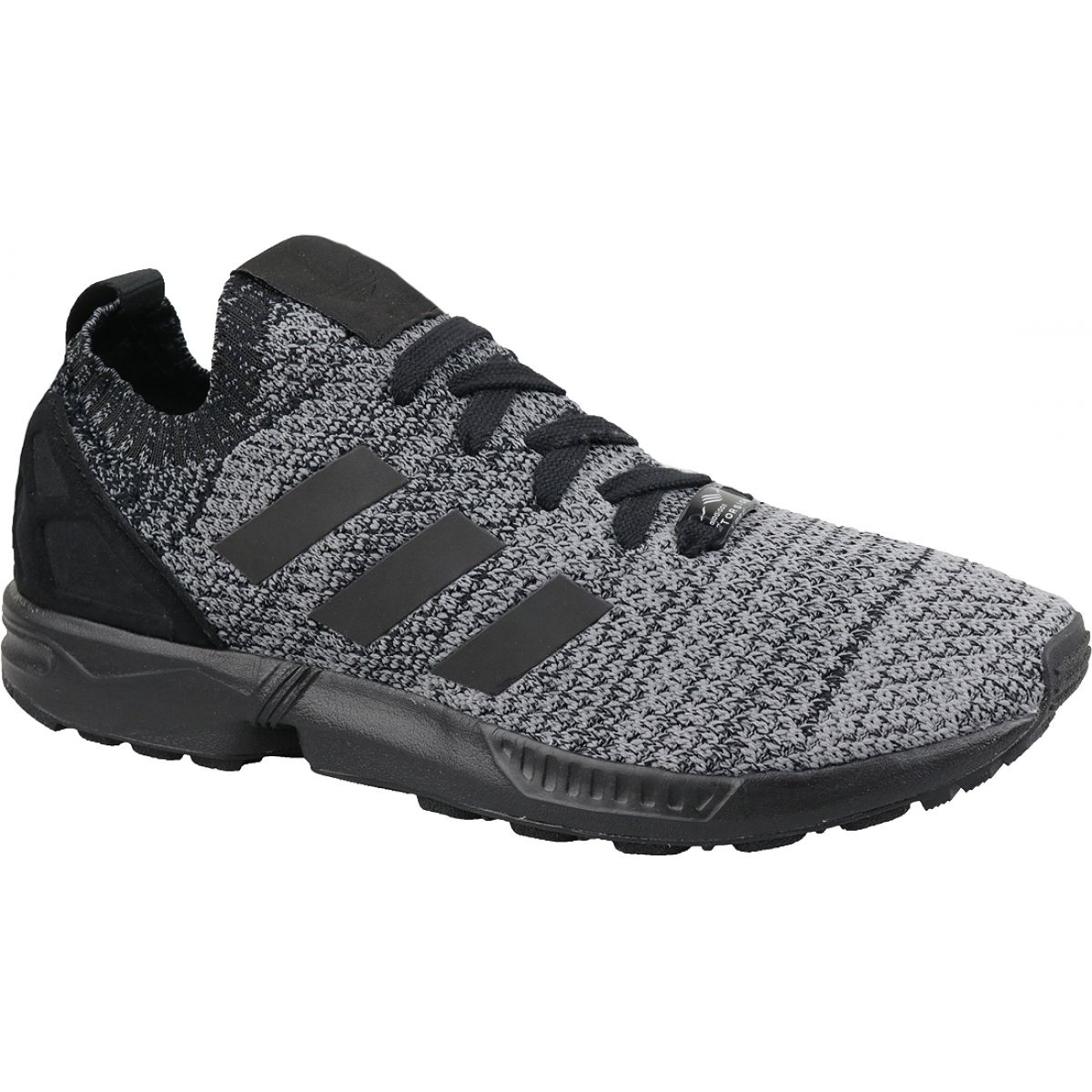 brand new ecc9b 7f063 Black Adidas Originals Zx Flux Primeknit M BZ0562 shoes
