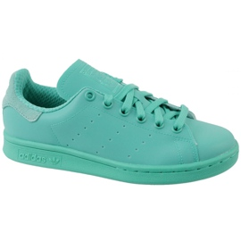 Blue Adidas Stan Smith Adicolor Shoes W S80250