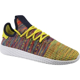 Adidas Originals Pharrell Williams Tennis Shoes In BY2673 multicolored