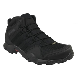 Black Adidas Terrex AX2R Mid Gtx M CM7697 shoes