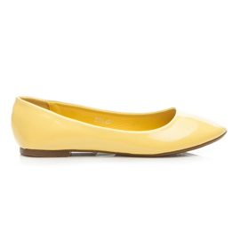 Seastar yellow Lacquered Ballerina