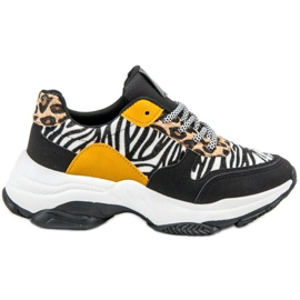 SHELOVET Sneakers Animal Print