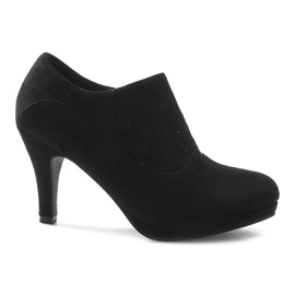 Black ankle boots Marie