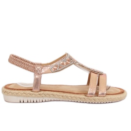 Sandals Champagne espadrilles CO-78 Champagne pink