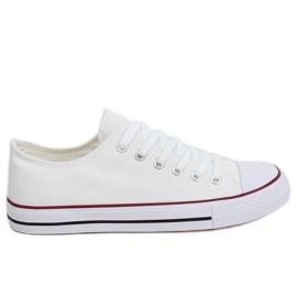 Classic women's white sneakers XL03 White