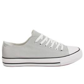 Grey Women's sneakers classic gray XL03 Gray