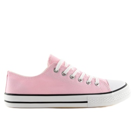 Classic women's sneakers pink XL03 Pink