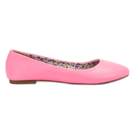 SHELOVET pink Casual Ballerina