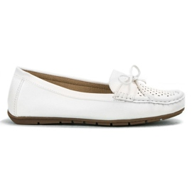 SHELOVET white Casual loafers