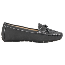 SHELOVET Casual loafers grey