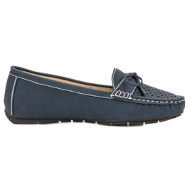 SHELOVET blue Casual loafers