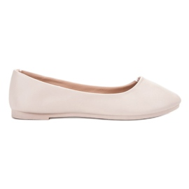 Brown Classic Beige Ballerina VICES