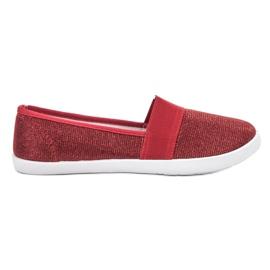 Renda red Brocade Sneakers