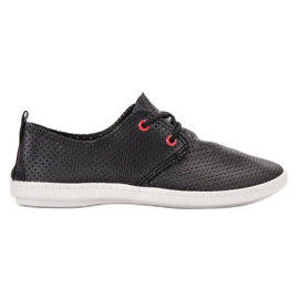 SHELOVET Black Sneakers