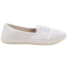 Balada white Slip-on Sneakers