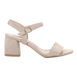 Brown Suede Sandals VICES