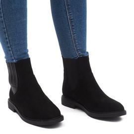 Insulated Boots Jodhpur boots J-8678 Black
