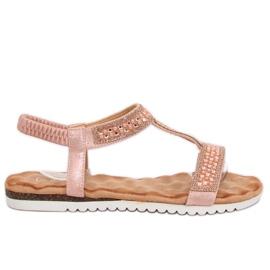 Women's sandals pink HT-67 Pink