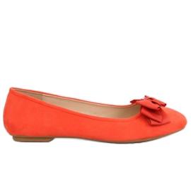 Orange women's ballerina 3173 Orange