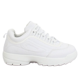 White D1909 White sports shoes