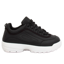 Black D1909 Black sports shoes