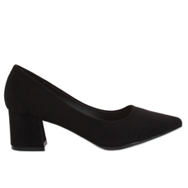 High-heeled pumps black KJ-10 Black