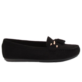 Loafers black L7183 Black